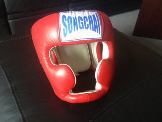 Helma pro Muay Thai, S1, K1, MMA - ČERVENÁ