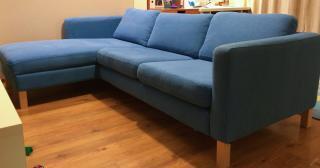 Sedací souprava IKEA KARLSTAD - 2 místná s lenoško
