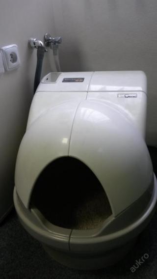 Automatická kočičí toaleta - kryté WC pro kočky