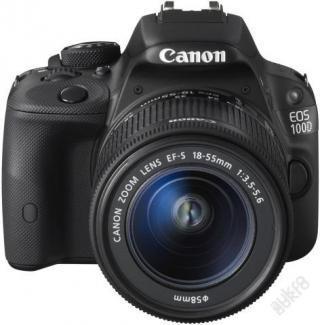 Digitální zrcadlovka Canon EOS 100D + 18-55 mm
