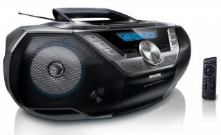 Radio s CD a USB vstupem PHILIPS
