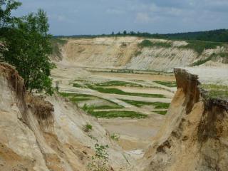 Uložení zeminy