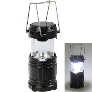 Silná solární lampa pro rybáře a turysty - 6x led