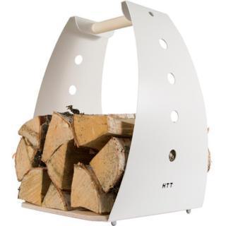 Designový koš, nosič dřevo HONKA
