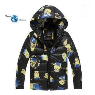 Dětská zimní bunda MIMONI s kapucí