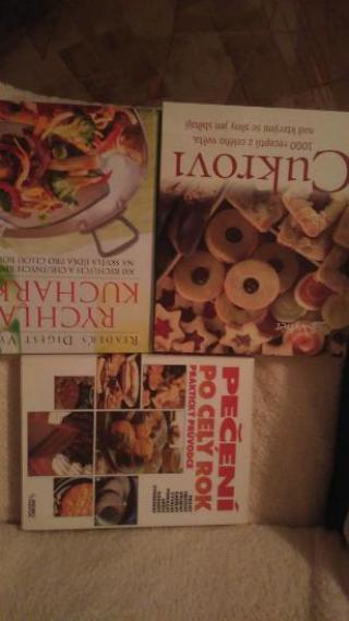Knihy - kuchařky