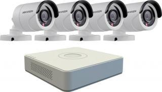IP Kamerový SET HikvisionDS-7104+4 venk. FullHDcam