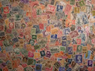 Staré známky z ciziny