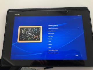 Tablet Sony Xperia Z