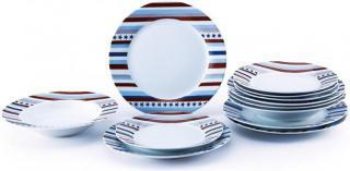 Renberg Set talířů, porcelán STARLINE 18ks