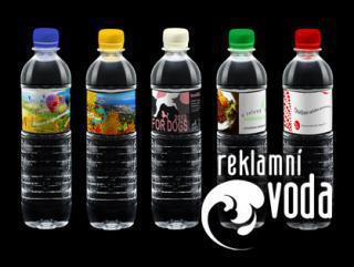 Reklamní voda s Vaším logem