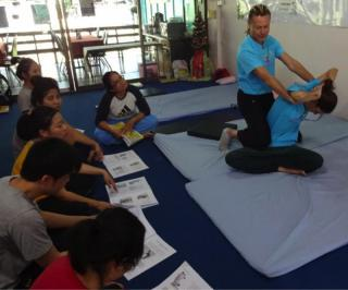 Certifikovaný kurz  Thai Yoga Massage