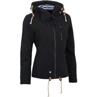 Woox Drizzle Jacket Ladies Dark - dámská bunda