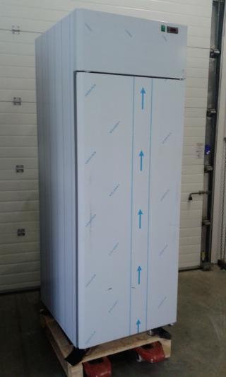 Nerezová lednice - jednodveřová