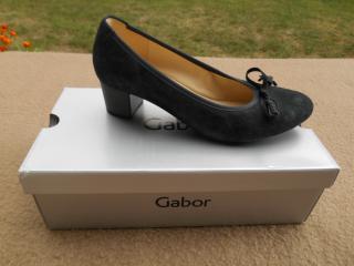 Nové dámské luxusní pohodlné boty zn. GABOR vel. 38,5