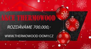 Vánoční AKCE ThermoWood JAELA - STAVEBNICE DŘEVOSTAVBY