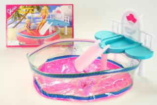 Glorie bazén pro panenky Barbie
