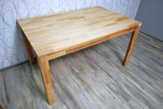 Jídelní stůl, dřevo masiv