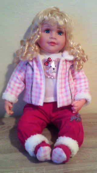 Nová panenka 55 cm