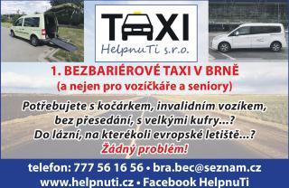 Velké a bezbariérové taxi
