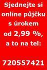 Online půjčky od 2,99 % ještě dnes celá Čr