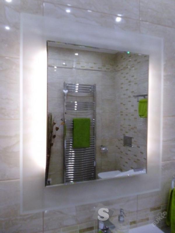 Podsvícené zrcadlo do koupelny