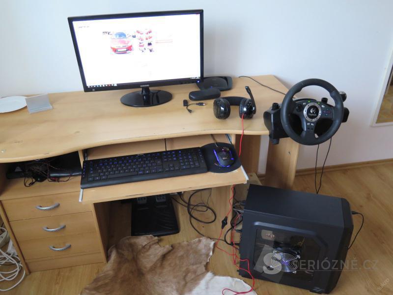 """Prodám herní pc.+monitor 24"""" + příslušenstvý"""