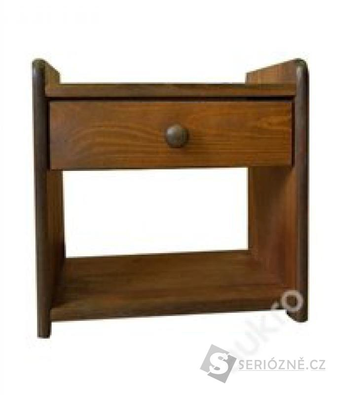 Noční stolek BEATA - ořech