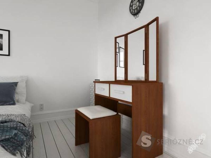 Toaletní stolek toaletka se zrcadlem