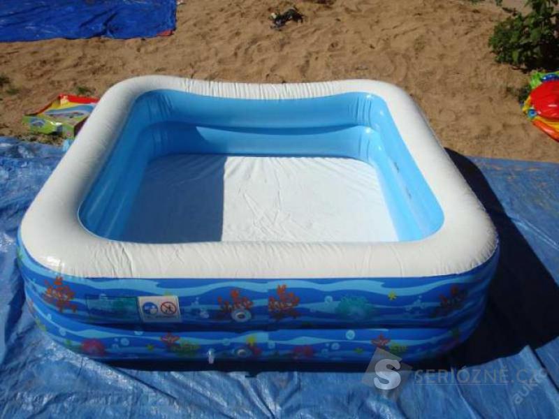SUPER Dětský velký nafukovací bazén