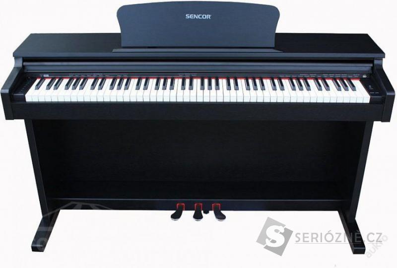 Digitální piano ověřené značky SENCOR