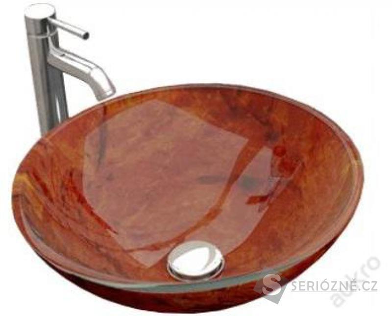 Skleněné Umyvadlo 420x420