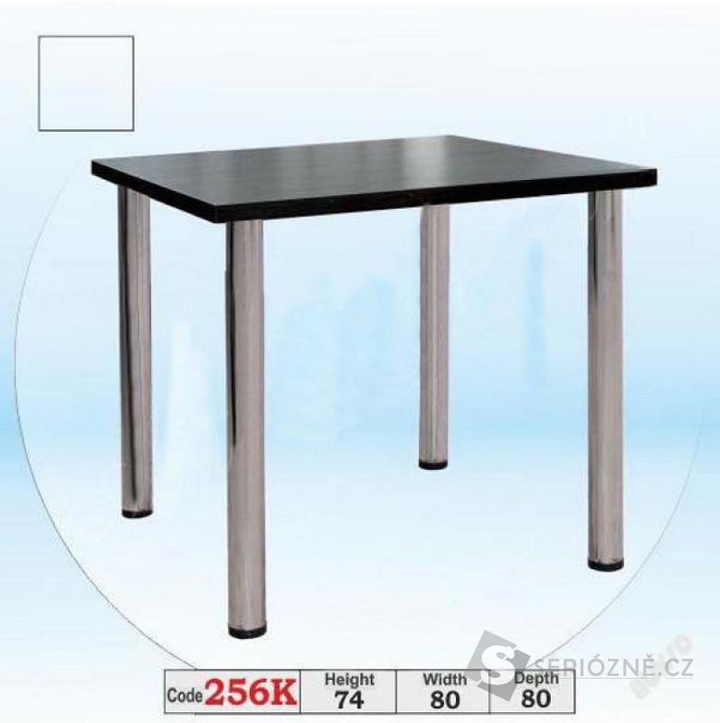 Kuchyňský jídelní čtvercový stůl 80 x 80 cm