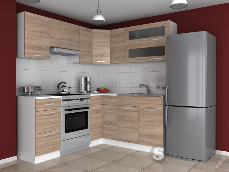 Kuchyňská linka, kuchyň ESTER - sonoma