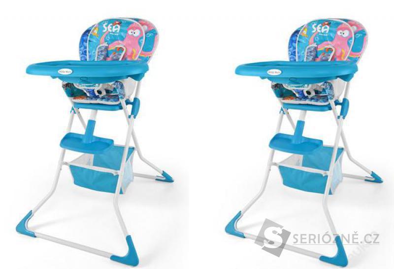 Dětská jídelní židlička MINI