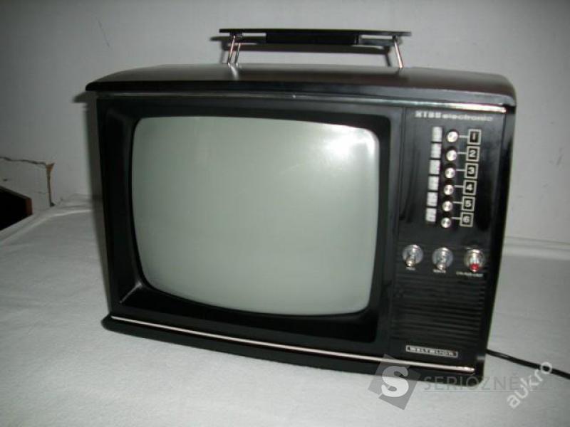 TELEVIZE RETRO PŘENOSNÁ