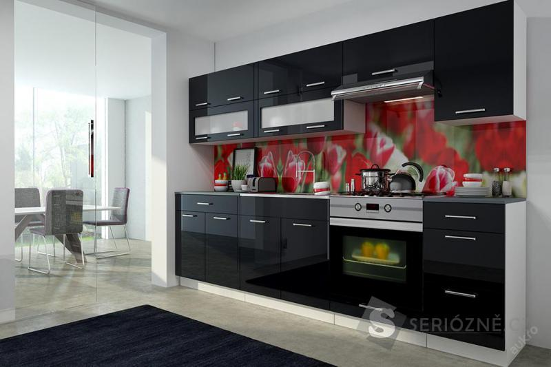 Kuchyňská linka - černá