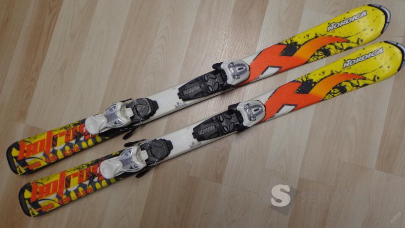 Lyže dětské NORDICA HOT ROD - 110 cm