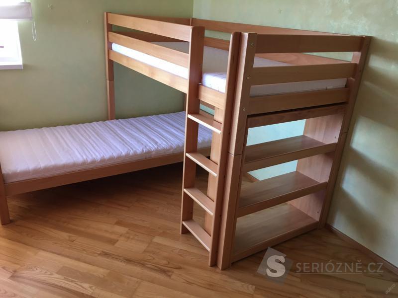 Dětská patrová postel - palanda