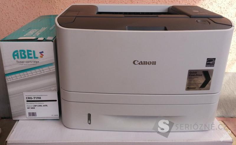 Tiskárna laserová Canon LBP-6310 + nový toner
