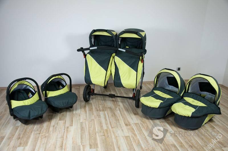 Kočárek DorJan Danny Sport Twin Max