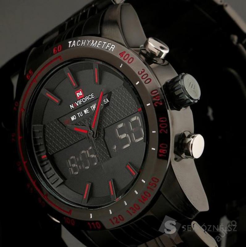 Pánské vojenské LED hodinky