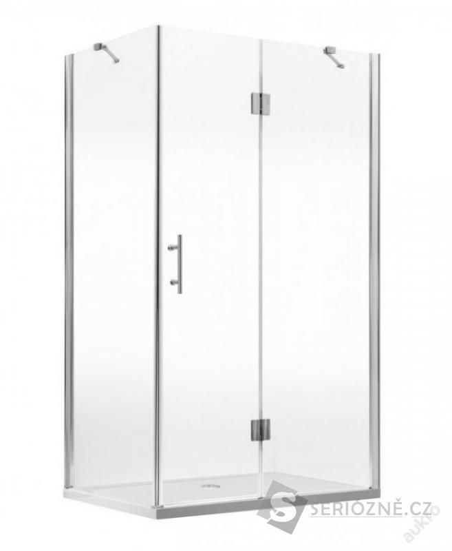 Sprchový kout Belly-O 120x80 (bezrámový luxusní)