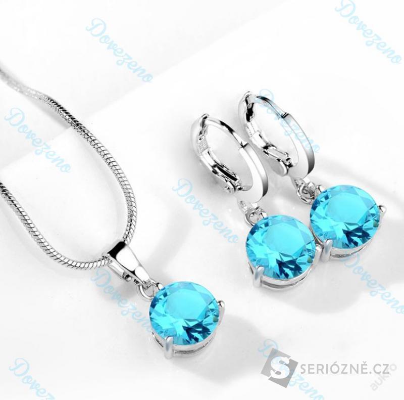 Set - náušnice a náhrdelník