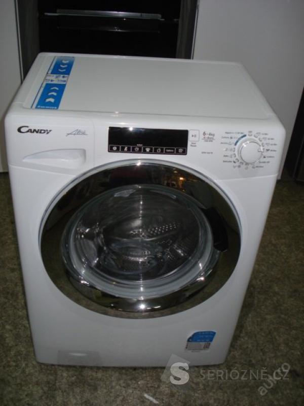 Pračka se sušičkou Candy GVW 364 TC, 6/4 kg, nová