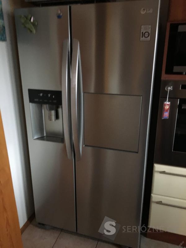 Americká lednice LG GSP 325 NSCV