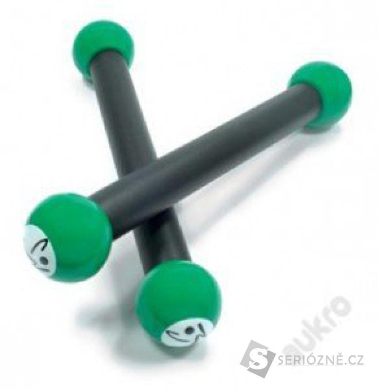Cvičební zumba činky Fitness King, 2 ks