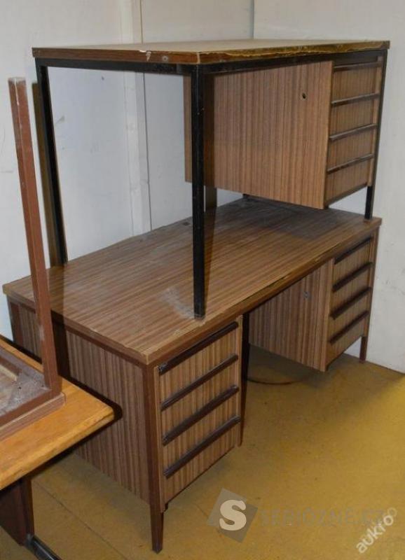 Stůl kancelářský psací, jednostranné šuplíky