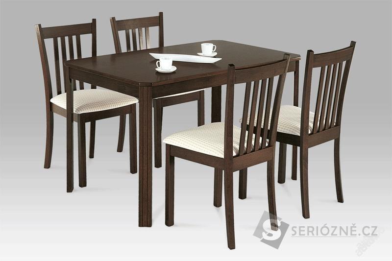 Kuchyňský jídelní set stůl + 4x židle