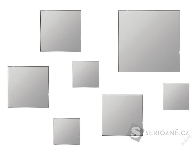 Dekorativní zrcadlo - 7ks